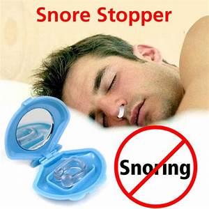Anti Snore Device Silicon Stop Apnea Snoring Nose Clip