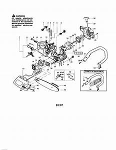 Poulan 2075c Type 5 Gas Chainsaw Parts