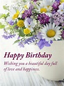 Share with you the most beautiful and happy birthday greetings