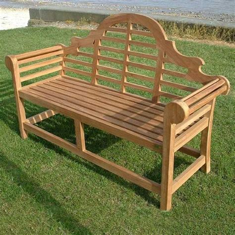 Marlborough 3 Seat Lutyens Teak Garden Bench Internet