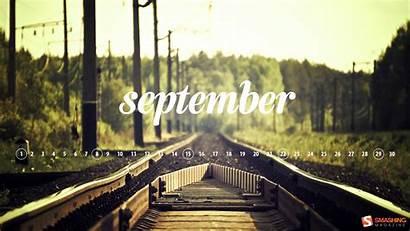 Desktop September Calendar Septembrie Za Pozadine Septiembre
