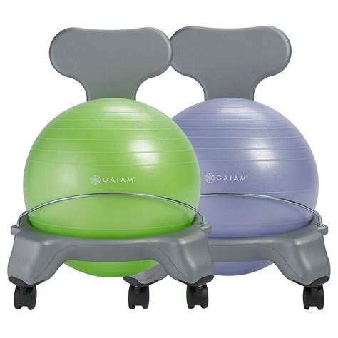 gaiam chair gaiam balance chair blue green
