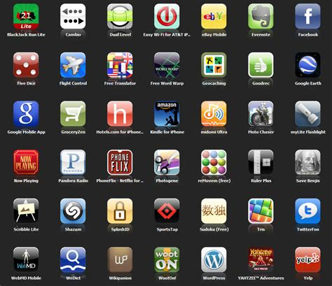apps for iphone my iphone applications after 10 months helpmerick