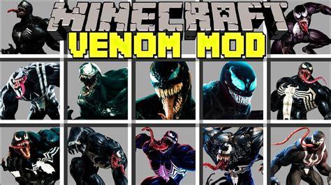 Minecraft Venom Mod L Become Venom To Fight Superheroes L