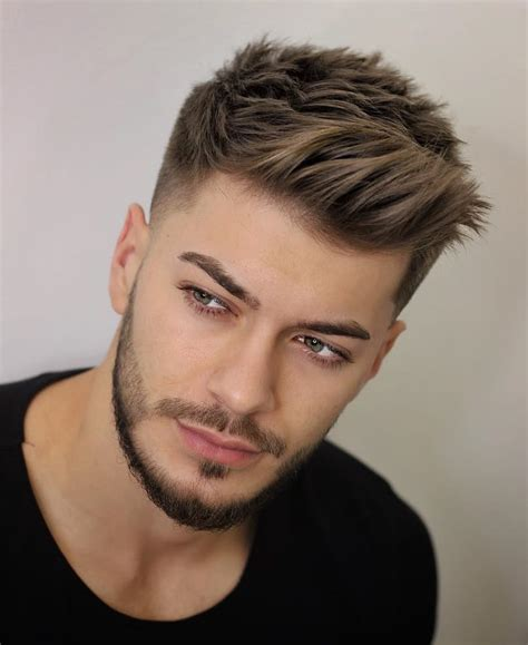 unique short hairstyles  men styling tips