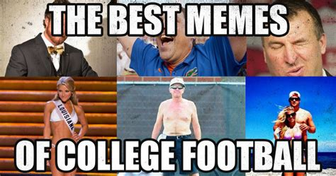 College Football Memes - the ultimate collection of college football memes before kickoff