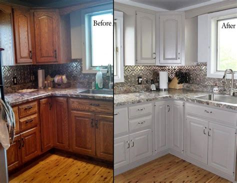 Cabinet Painting by Tips For Spray Painting Kitchen Cabinets Dengarden