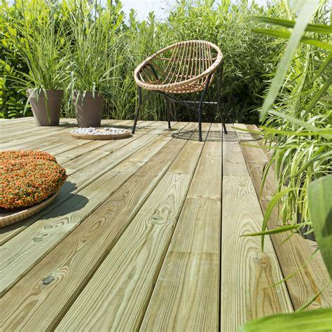 leroy merlin lame terrasse planche bois naturel l 240 x l 12 cm x ep 25 mm leroy merlin