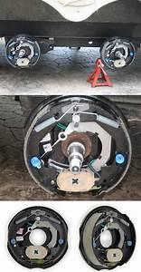 Dexter Nev-r-adjust Electric Trailer Brake Assembly
