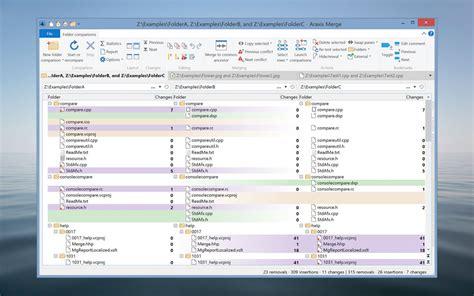 araxis merge advanced    file comparison diff