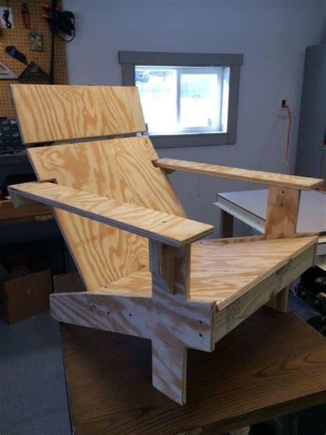 modern adirondack chair  betasig  lumberjockscom