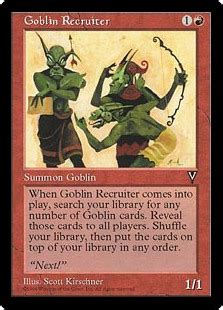 Goblin Commander Deck 2015 by Mons Johnson S Goblin Circus Magic The Gathering