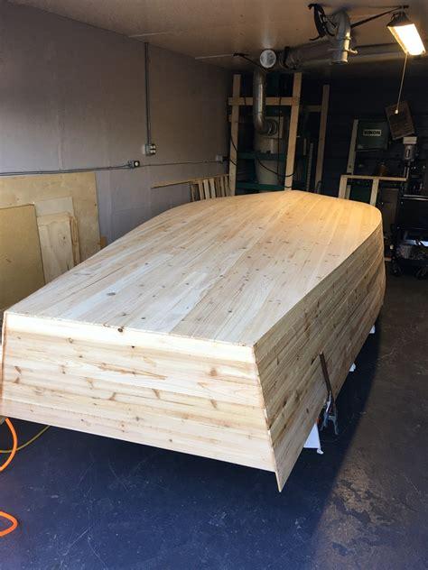 boat cedar build jet hull
