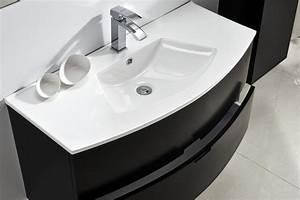 Waschtisch Inkl Unterschrank : badm bel unterschrank burbuja schwarz inkl waschtisch alphabad ~ Bigdaddyawards.com Haus und Dekorationen