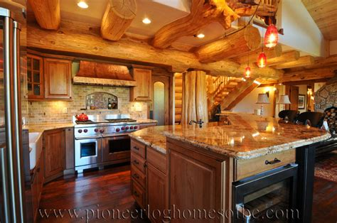 split level house floor plans log homes kitchen dining image gallery bc canada