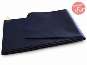 Nappe Bleu Marine : nappe de table bleu marine nappe rectangulaire 140x240cm ~ Teatrodelosmanantiales.com Idées de Décoration
