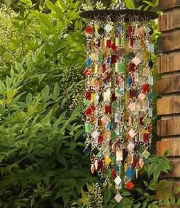 Hand Made Create Your Own Stained Glass Wind Chime