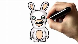 Lapin Facile A Dessiner : chris dessine un lapin cr tin tutoriel youtube ~ Carolinahurricanesstore.com Idées de Décoration
