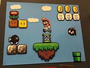 Bügelperlen Super Mario : mario scene basteln pinterest b gelperlen mario und hama b gelperlen ~ Eleganceandgraceweddings.com Haus und Dekorationen