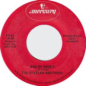 The Statler Brothers Bed Of Roses by 45cat The Statler Brothers Bed Of S The Last