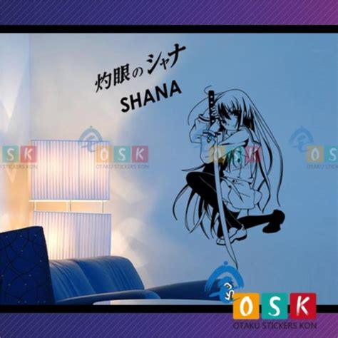 shakugan shana animation theater wall stickers car
