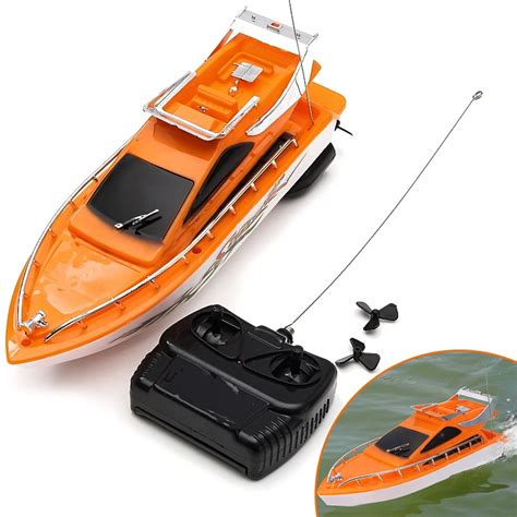 Rc Boats Orange County by Orange Mini Rc Boats Plastic Electric Remote Speed