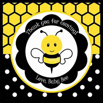 Bee Bumble Tags Party Printable Clipart Favor