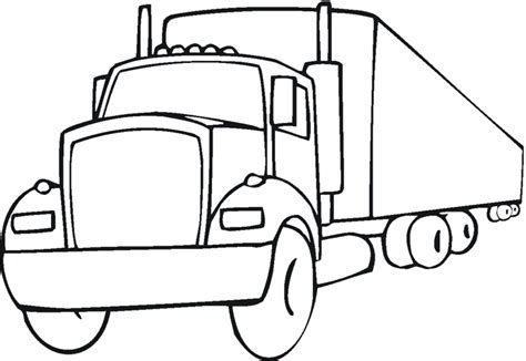Educational Fire Truck Coloring Pages