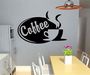 Küche Deko Wand : wandtattoo coffee tasse kaffee k che deko wand sticker ~ Whattoseeinmadrid.com Haus und Dekorationen