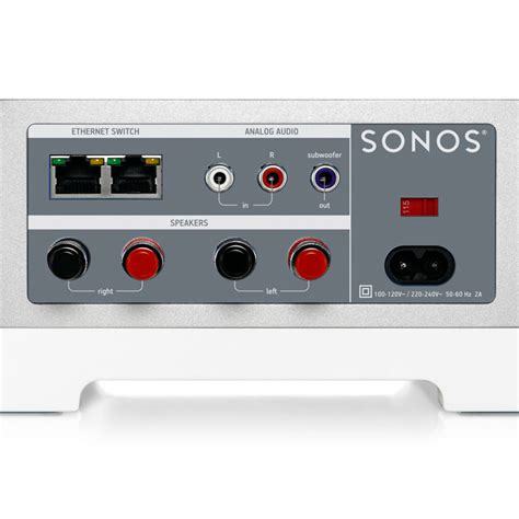 sonos connect sonos connect wireless system adaptor at gear4music