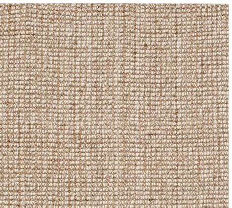 Chunky Wool & Jute Rug Swatch   Pottery Barn
