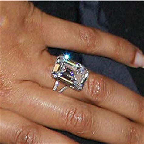 stunning celebrities engagement rings
