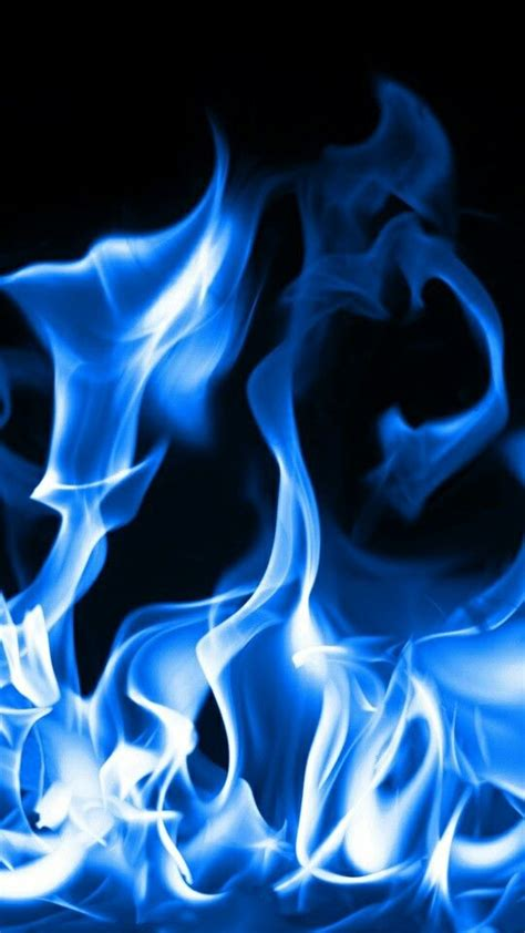 blue flames blue aesthetic blue wallpapers blue