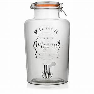 Getränkespender Glas Mit Zapfhahn : getr nkespender aus glas 8 0l ~ Markanthonyermac.com Haus und Dekorationen