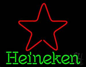 Heineken Star Beer Neon Sign