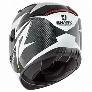 Casque Shark Speed R : casque shark speed r 2 carbon run blanc sasie center moto ~ Melissatoandfro.com Idées de Décoration