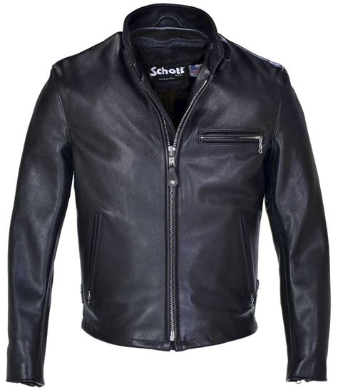 black motorbike jacket schott cafe racer cafe racer jacket scott motorcycle