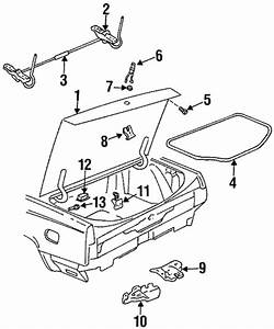 Trunk For 1997 Buick Lesabre  Limited