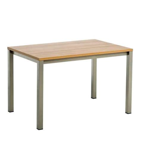 table cuisine 4 pieds table de cuisine vienna en stratifié sans allonge 2