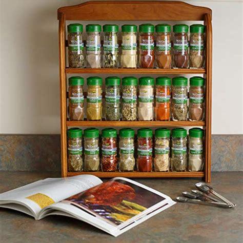 Spice Rack Gift by Mccormick Gourmet Organic Wood Spice Rack 24 Herbs