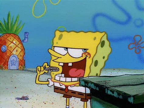 Gambar Animasi Bergerak Lucu Spongebob