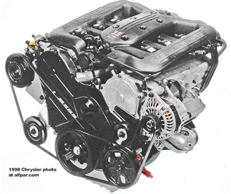 3 5 Chrysler Engine by Chrysler Dodge 3 5 Liter V6 Engines