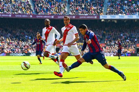 Fc Barcelona V Rayo Vallecano De Madrid  La Liga Zimbio