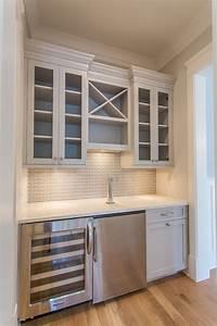 Gray Wet Bar - Transitional - kitchen - Benjamin Moore