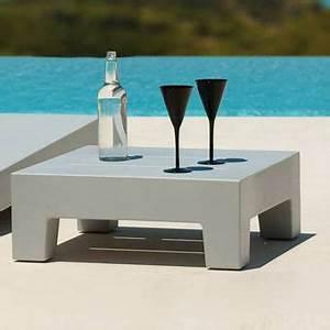Petite Table Basse De Jardin : table salon exterieur inds ~ Teatrodelosmanantiales.com Idées de Décoration