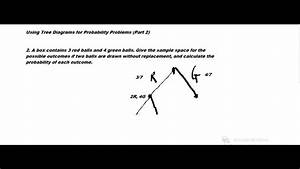 Using Tree Diagrams For Probability Problems  Part 2