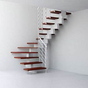 Escalier En U : escalier en u magia 90xtra blanc cerisier castorama ~ Farleysfitness.com Idées de Décoration