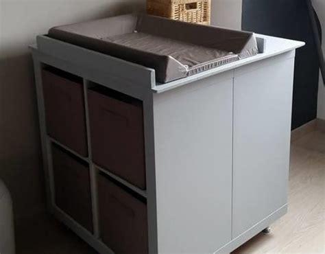 ikea meubles bureau un meuble à langer avec du rangement bidouilles ikea