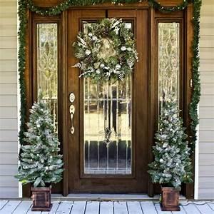 Front, Door, Christmas, Decorating, Ideas