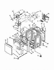 Whirlpool 27 U0026quot  Electric Dryer Parts